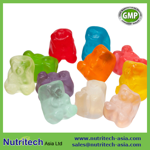 Hair Vitamin Gummy Bears Candy for Adults