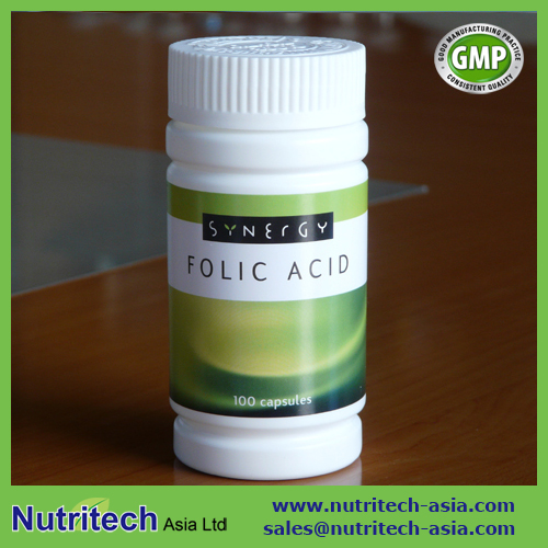 Folic Acid 800 mcg Capsule oem private label